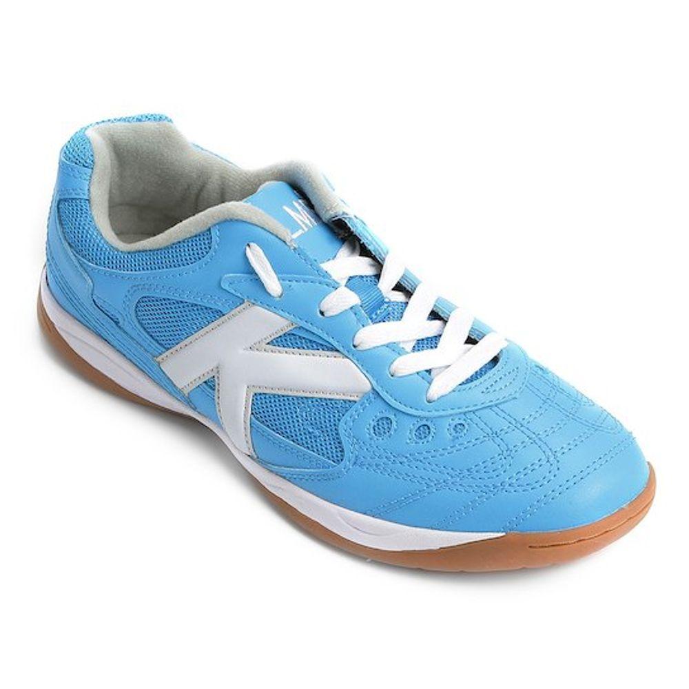 f39e995a85 Chuteira Kelme Copa Futsal Azul e Branca - Home