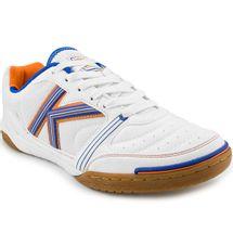 chuteira-kelme-millenium-futsal-branca-azul-laranja-41-1