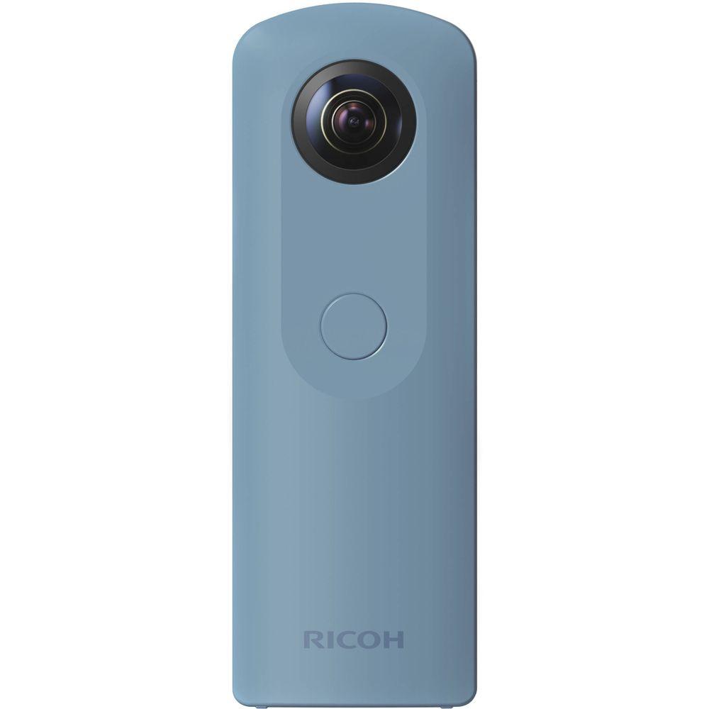 Câmera Fotográfica Digital 360º Ricoh Theta SC - Azul - Mercostore Shop 12b09d7cdeb2e
