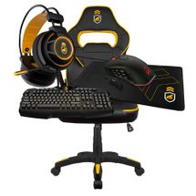 kit-gamer-armor-1-cadeira-gamer-preta-amarela-headse-armor-mouse-atomic-mousepad-gamer-tech-grip-teclado-tech-fury-gorila-gamer