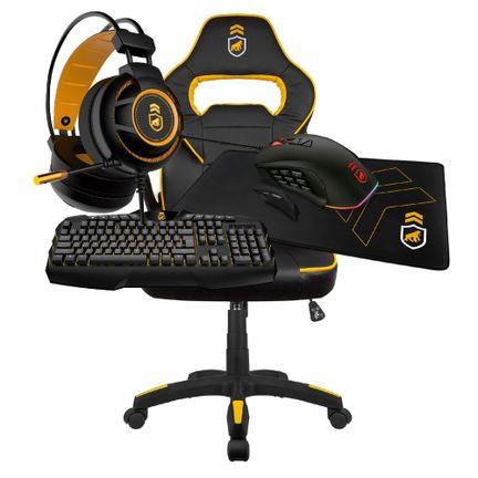 kit-gamer-armor-1-cadeira-gamer-preta-amarela-headse-armor-mouse-atomic-mousepad-gamer-tech-grip-teclado-tech-fury-gorila-gamer