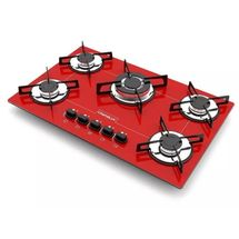 cooktop-5-bocas-tripla-chama-bivolt-chamalux-vermelho-bivolt