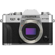 camera-fujifilm-x-t30-mirrorless-prata-corpo
