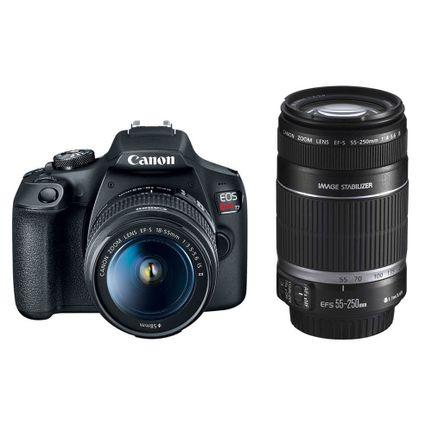 kit-camera-dslr-canon-eos-rebel-t7-com-lentes-18-55mm-e-55-250mm