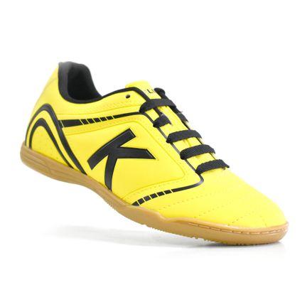 chuteira-futsal-kelme-sprint-1-0-fs-amarelo-preto