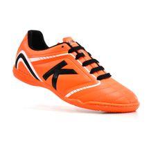 chuteira-futsal-kelme-sprint-1-0-fs-laranja-preto