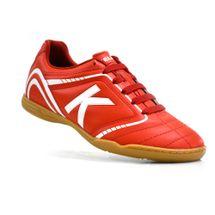 chuteira-futsal-kelme-sprint-1-0-fs-vermelho-branco