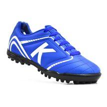 chuteira-society-kelme-sprint-1-0-tf-azul-branco