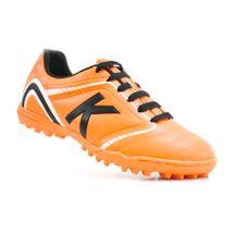 chuteira-society-kelme-sprint-1-0-tf-laranja-preto