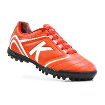 chuteira-society-kelme-sprint-1-0-tf-vermelho-branco