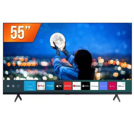 "Smart TV LED 55"" Ultra HD 4K HDR Samsung HDMI X2 USB TYZEN"