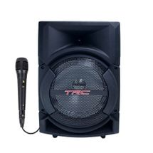 Caixinha de Som Bluetooth TRC 5522 - 220w RMS Microfone