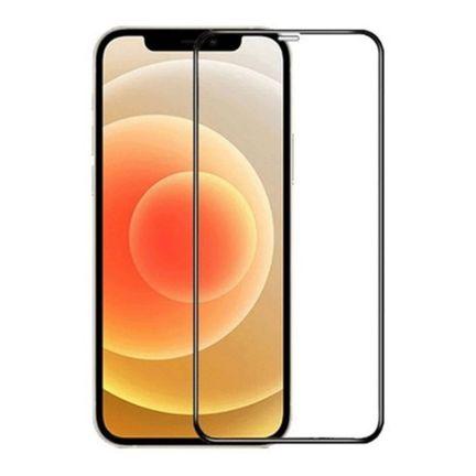 Película de Vidro iPhone 12 Mini 5.4 Com Borda Preta