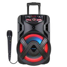 Caixa Som Bluetooth Amvox ACA 401 TSUNAMI - 400w + 01 Microfone