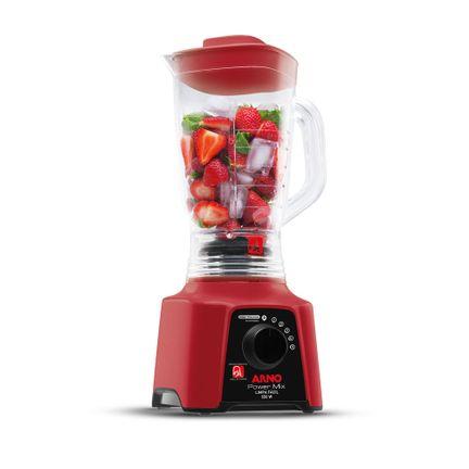 Liquidificador Power Mix Arno Limpa Fácil Vermelho LQ30