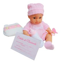 Boneca Infantil Faz Xixi Com Mamadeira BW-100 Importway