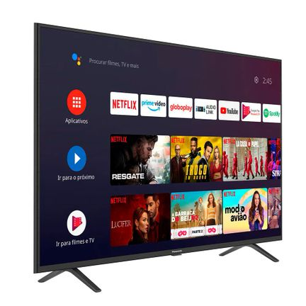 Smart TV Ultra HD LED Android 55