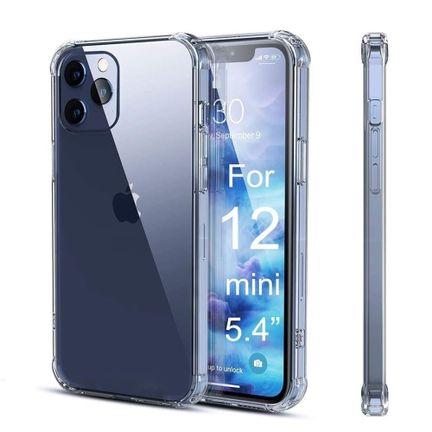 Capa iPhone 12 Mini 5.4 Anti Impacto Transparente