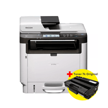 Impressora Multifuncional Ricoh Sp 3710Sf + Toner Ricoh Aio Sp 3710 Original 7K