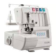 Máquina de Costura Elgin Overlock 1000 Eletrônica 110v