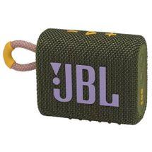 Caixa de Som Portátil JBL Go3 à prova D'água Verde