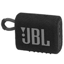 Caixa de Som Portátil JBL Go3 à prova D'água Preta