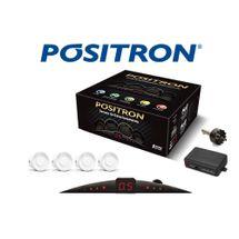 Sensor De Ré Estacionamento Pósitron 4 Pontos Preto